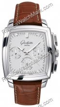 Senador Glashutte Chronograph Mens Watch Karree 39-31-53-52-04