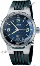 Oris Williams F1 Team Day Date Mens Watch 635.7560.41.65.RS