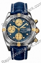 Breitling Chrono Cockpit Windrider jaune 18 kt Mens Steel Gold B
