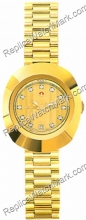 Rado Original Diastar Gold-Tone Champagne Ladies Watch R12416633
