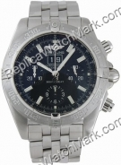 Breitling Windrider Blackbird Steel Black Mens Watch A4435910-B8