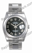 Swiss Rolex Oyster Perpetual Datejust Mens Watch 116200-BKSO
