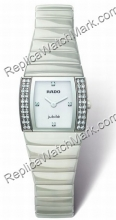 Rado Sintra Superjubile White Diamond Damas Mini reloj de cerámi