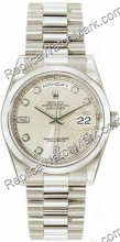 Suíça Rolex Oyster Perpetual Date Mens Watch Day-118.206-SD