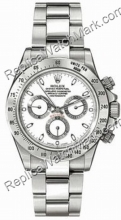 L'homme Swiss Rolex Daytona Oyster Perpetual Montre blanc 116520