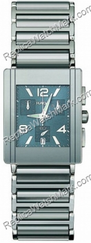 Rado Integral Chronograph tom Platina cerâmica Blue Mens Watch R