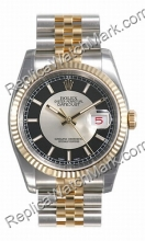 Swiss Rolex Oyster Perpetual Datejust Mens Watch 116233-SBKSJ