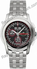 Gucci 5.505 Mens XL Stainless Steel Watch Water Resistant YA0552