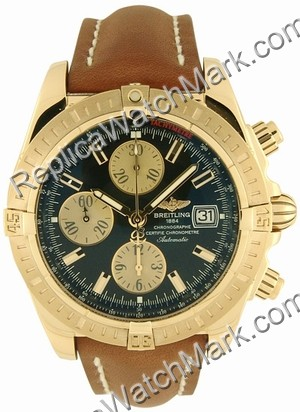 Breitling Chronomat Evolution Windrider 18 kt or jaune hommes du