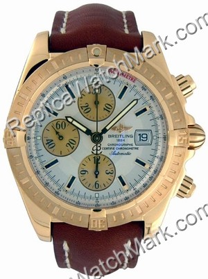 Breitling Windrider Chronomat Evolution 18kt Gelbgold Herrenuhr