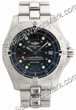 Breitling Aeromarine Superocean Steelfish X-Plus Steel Black Men