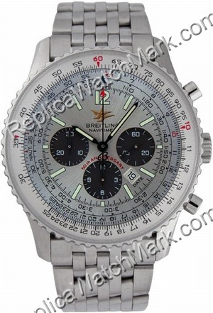 Breitling Navitimer Special Edition Steel Grey Dial Mens Watch A