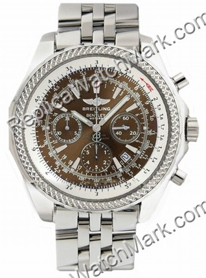 Breitling Bentley Motors Chronograph Steel Bronze Mens Watch A25