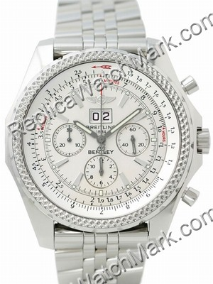 Breitling Bentley 6.75 Chronograph Steel Mens Watch A4436212-G5-