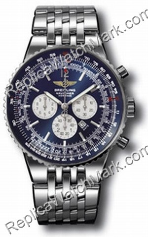 Breitling Navitimer Heritage Steel Blue Mens Watch A3534012-C5-4