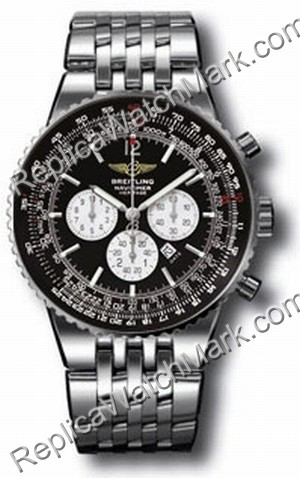 Breitling Navitimer Mens Património Steel Black Watch A3534012BL