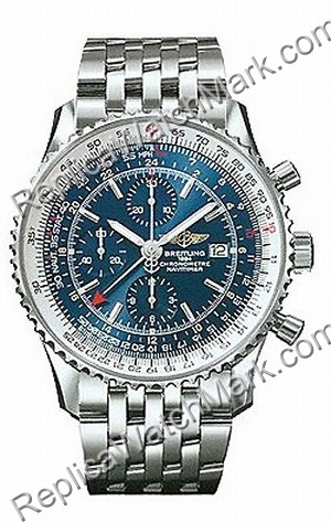 Breitling Navitimer World Steel Blue Herrenuhr A2432212-C6-415
