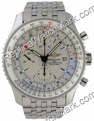 Breitling Navitimer World Steel Mens Watch A2432212-G5-426A