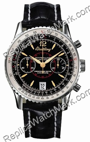 Breitling Navitimer Montbrillant Limited Edition Steel Black Men