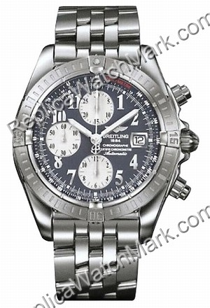 Breitling Windrider Chronomat Evolution Steel Grey Herrenuhr A13