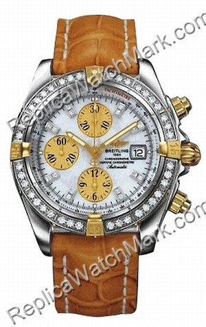 Breitling Windrider Chronomat Evolution Diamond 18kt Gelbgold St