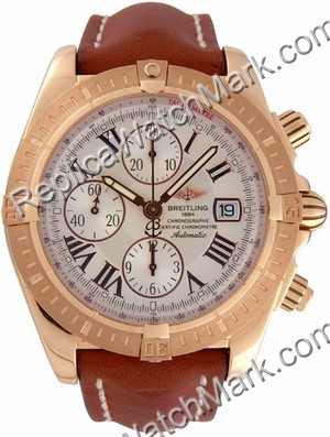 Breitling Windrider Chronomat Evolution 18kt Rose Gold Chronogra