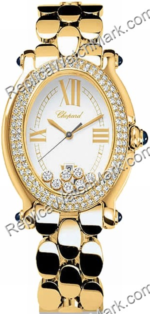 Chopard Happy Sport Oval 277079-0002 (27/7079-23)