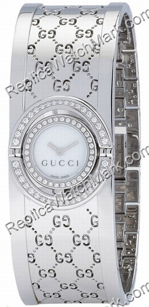 77222185bf7 Precision Mechanical watches   Gucci 112 Twirl Stainless Steel ...