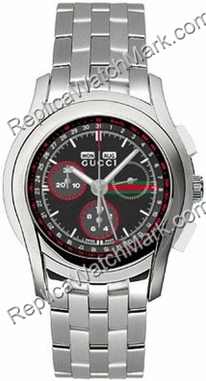 694b88bb701 High Grade Watches   Gucci 5505 Mens XL Stainless Steel Water ...