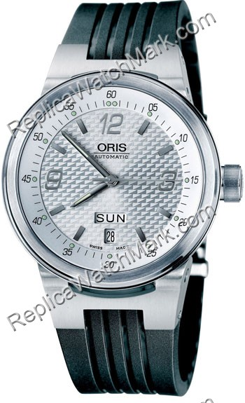 Oris Williams F1 Team Collection TT2 Mens Date Day Watch 635.756