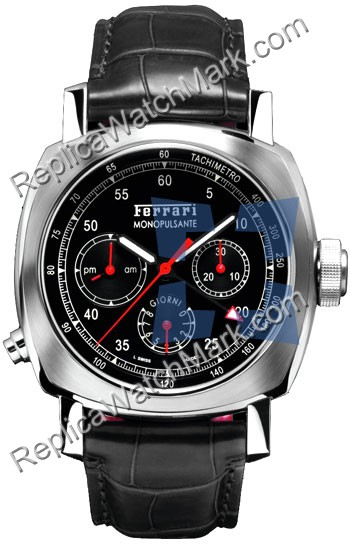 Panerai Ferrari 8 Days Chrono Mens Watch Monopulsante GMT FER000