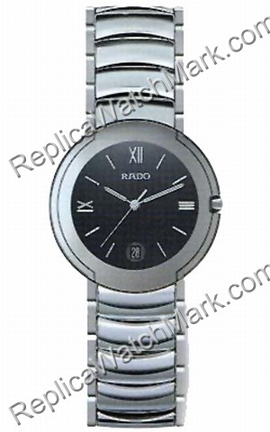 Rado Coupole Steel and Ceramic Day Mens Watch R22624152