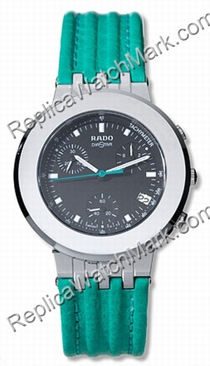 Rado DiaMaster Green Leather Unisex Watch R14470176
