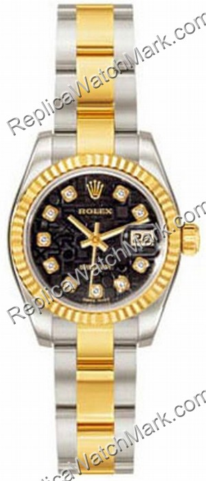 Rolex Oyster Perpetual Lady Datejust Ladies Watch 179173-BKDO