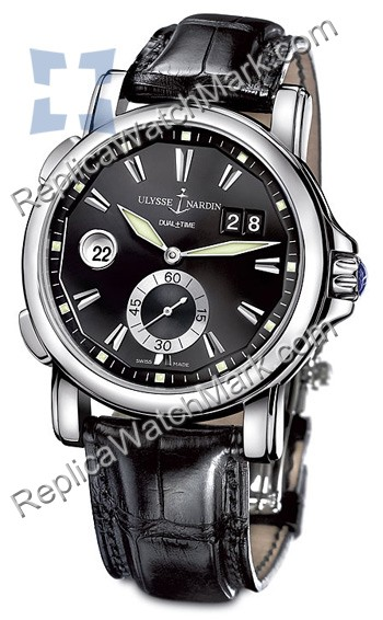Ulysse Nardin Dual Time 42 mm Mens Watch 243-55-92