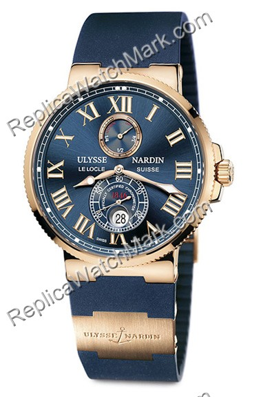 Ulysse Nardin Maxi Marine Chronometer 43mm Herrenuhr 266-67-3-43
