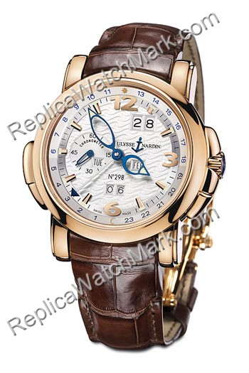 Ulysse Nardin GMT + - Perpetual Limited Edition Herrenuhr 322-66